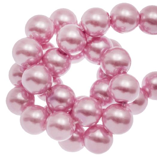 Glaswachsperlen (10 mm) Pink Blush (88 Stück)