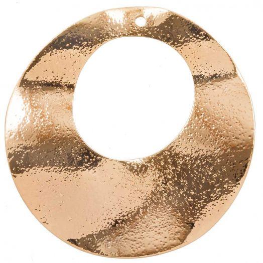Anhänger (33 mm) Gold (6 Stück)