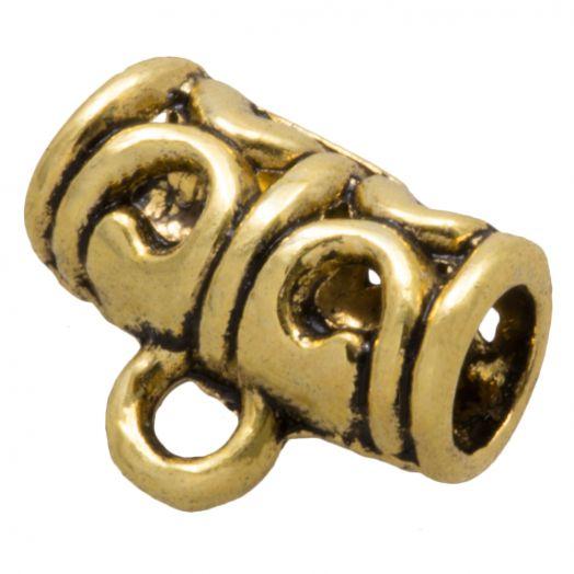 Charmträger (Innenmaß 3.5 mm) Gold (10 Stück)
