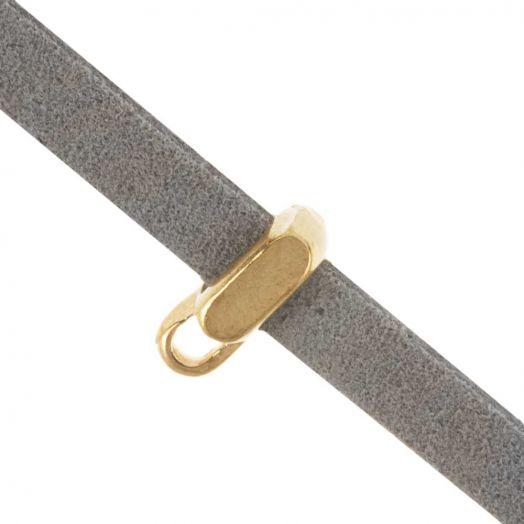 Charmträger (Innenmaß 5 x 2 mm) Gold (10 Stück)