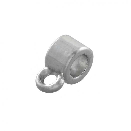 Charmträger (Innenmaß 1 mm) Altsilber (10 Stück)