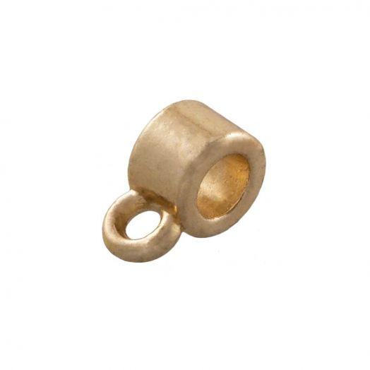 Charmträger (Innenmaß 1 mm) Gold (10 Stück)