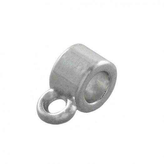 Charmträger (Innenmaß 2 mm) Altsilber (10 Stück)