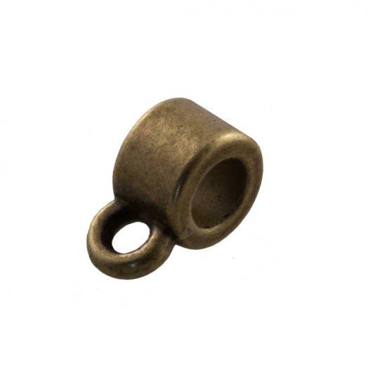 Charmträger (Innenmaß 2 mm) Bronze (10 Stück)
