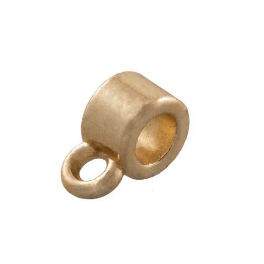 Charmträger (Innenmaß 2 mm) Gold (10 Stück)