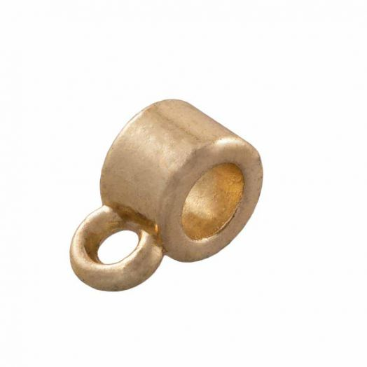 Charmträger (Innenmaß 3 mm) Gold (10 Stück)