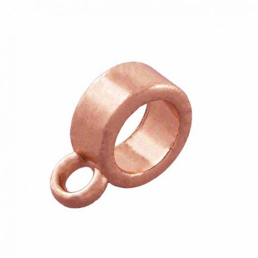 Charmträger (Innenmaß 4 mm) Rose Gold (10 Stück)
