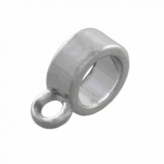 Charmträger (Innenmaß 5 mm) Altsilber (10 Stück)