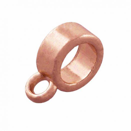Charmträger (Innenmaß 5 mm) Rose Gold (10 Stück)