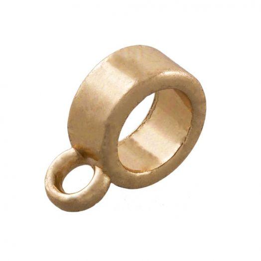 Charmträger (Innenmaß 6 mm) Gold (10 Stück)