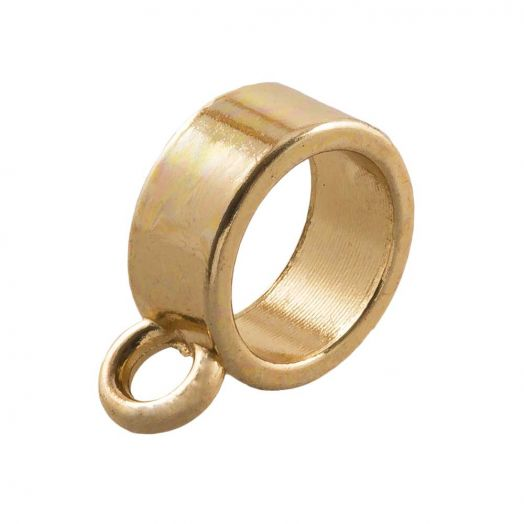 Charmträger (Innenmaß 7 mm) Gold (10 Stück)