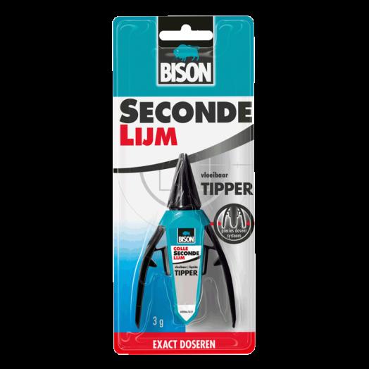 Sekundenkleber mit speziell konzipierten Tube (Bison) 3 gr