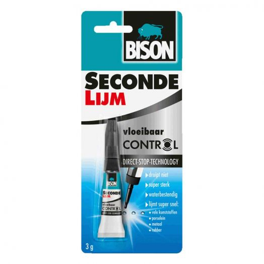 Sekundenkleber control (Bison) 3 gr