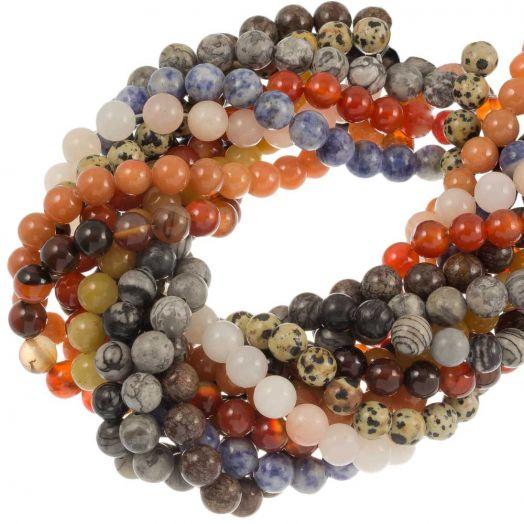 Vorteilset - Perlen (10 stränge)  'Naturstein'