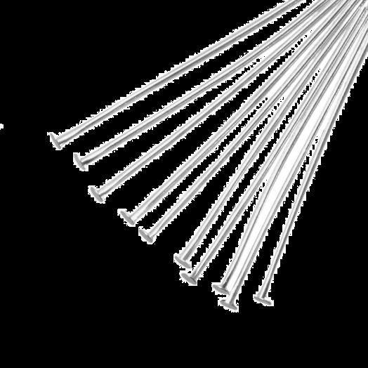 Nietstifte (35 mm) Altsilber (100 Stück)