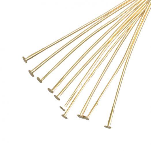 Nietstifte (50 mm) Gold (100 Stück)