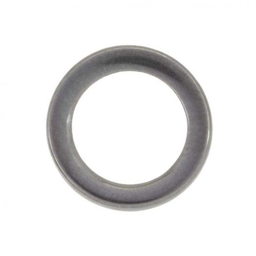 Stainless Steel Geschlossener Ringe (12 mm, Innenmaß 10 mm) Altsilber (20 Stück)