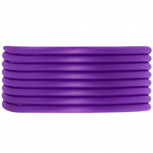 Gummiband hohl (3 mm) Perfect Purple (5 Meter)