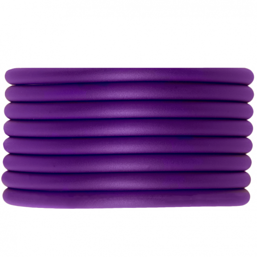 Gummiband hohl (4 mm) Perfect Purple (5 Meter)