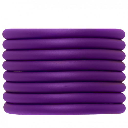 Gummiband hohl (5 mm) Perfect Purple (2 Meter)