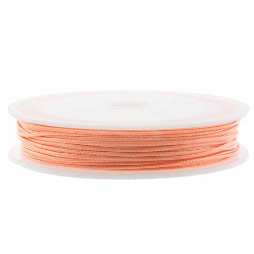 Wachsschnur (1 mm) Coral Pink (15 Meter)