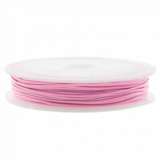 Wachsschnur (0.5 mm) Candy Pink (25 Meter)