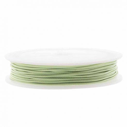 Wachsschnur (1.5 mm) Pistachio Green (10 Meter)