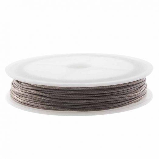 Wachsschnur (1.5 mm) Pecan Brown (10 Meter)