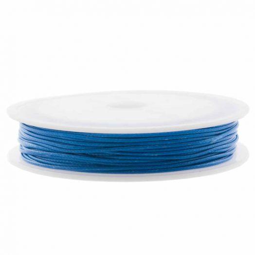 Wachsschnur (0.5 mm) Cobalt Blue (25 Meter)
