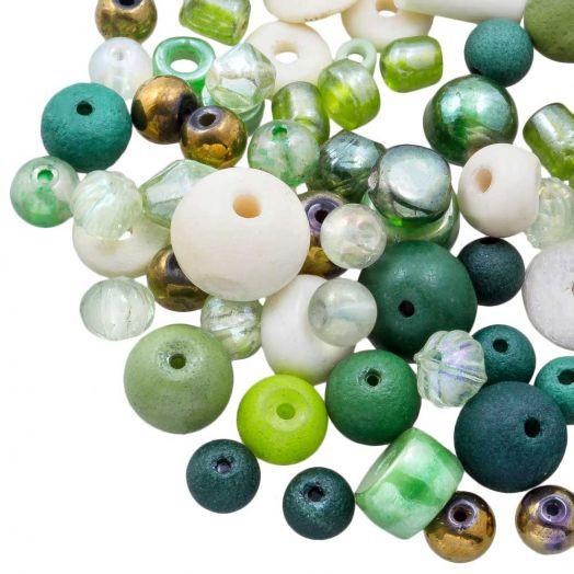 Perlenmischung - Verschiedene (verschiedene Größen) Nature (50 Gramm)