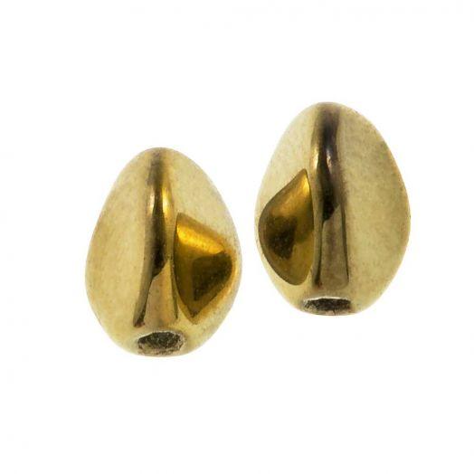 Pinch Beads (5 x 3 mm) Crystal Amber Full (5 Gramm / ca. 64 Stück)