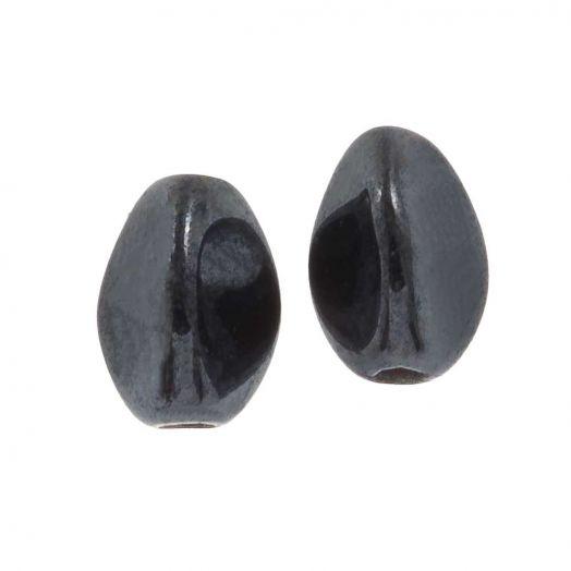 Pinch Beads (5 x 3 mm) Aluminium Silver (5 Gramm / ca. 64 Stück)