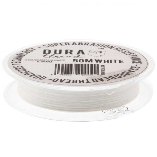 DURAThread (0,08 mm) White (50 Meter)