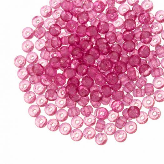 DQ Rocailles (3 mm) Candy Pink (25 Gramm / 600 Stück)