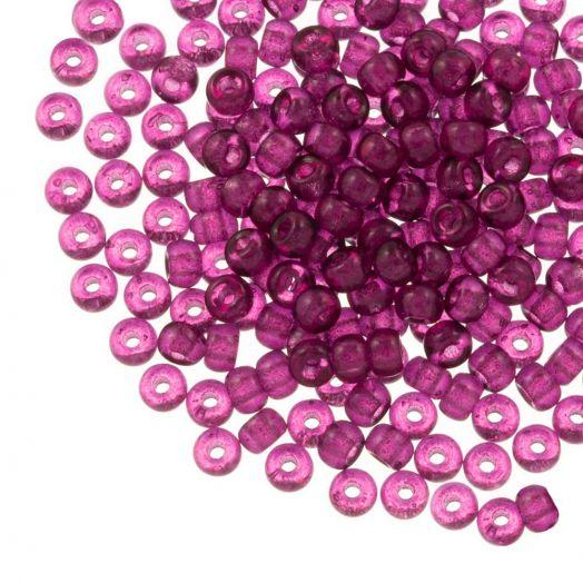 DQ Rocailles (4 mm) Mulberry Purple (25 Gramm / 350 Stück)