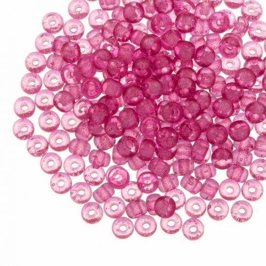 DQ Rocailles (4 mm) Candy Pink (25 Gramm / 350 Stück)