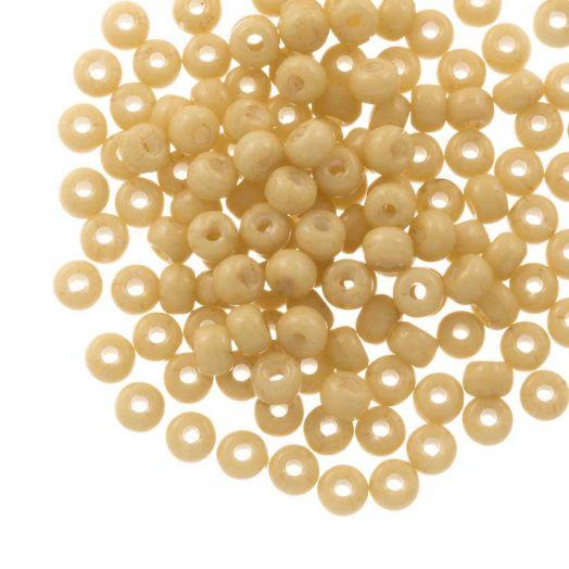 DQ Rocailles (4 mm) Golden Sand (25 Gramm / 350 Stück)
