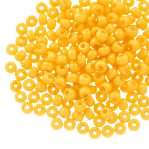 DQ Rocailles (4 mm) Yellow Gold (25 Gramm / 350 Stück)