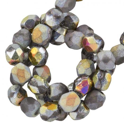 DQ Feuerpolierte Perlen (4 mm) Marea (50 Stück)