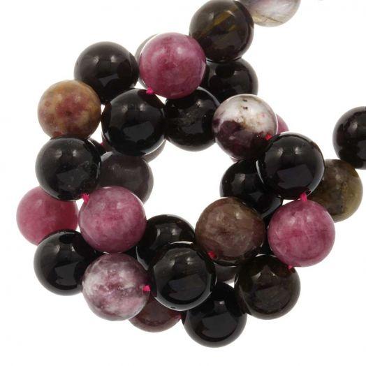 Tourmaline Perlen (8 mm) 47 stück