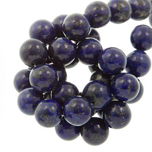 Lapis Lazuli Perlen (12 mm) 16 Stück