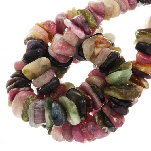 Tourmaline Perlen (11 - 17 x 9 - 11 x 2 - 4 mm) 145 stück