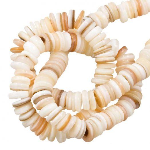 Muschelperlen (6 mm) Seashell (235 Stück)