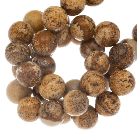 Picture Jaspis Perlen (6 mm) 60 Stück