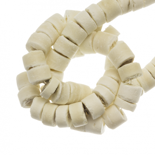 Kokos Perlen (4 - 5 mm) Blanched Almond (120 Stück)