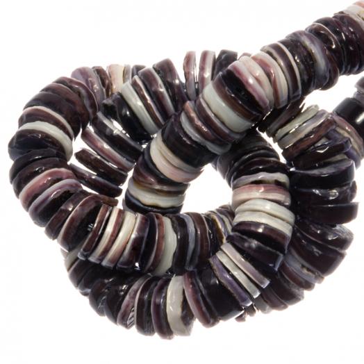 Muschelperlen (4 - 5 mm) Violet Oyster Shell (165 stück)