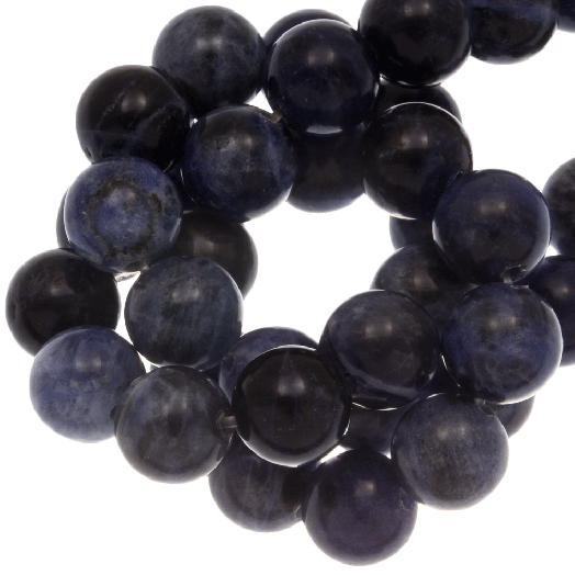 Sodalite Perlen (4 mm) 85 Stück