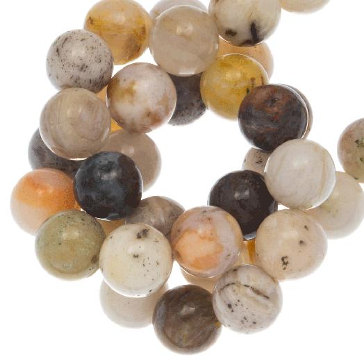 Crazy Achat Perlen (4 mm) 90 Stück