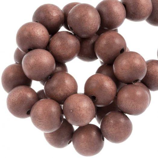 Peach beads