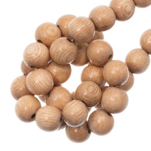 Holzperlen (8 mm) Rosewood (52 Stück)